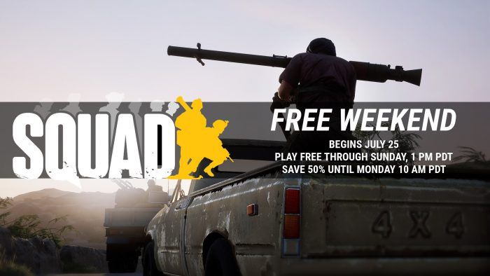 Free weekend begins July 25, 50% off through Monday